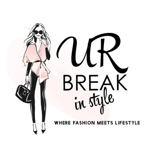 Catchy logo for a fashion and lifestyle blog