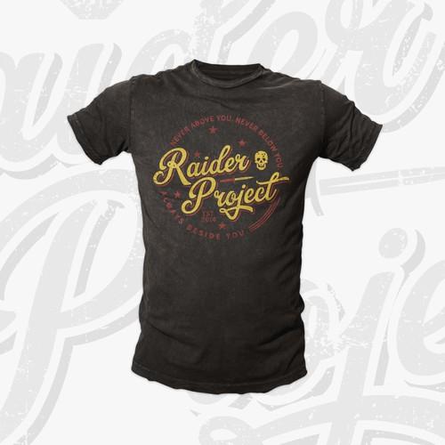 Raider Project Tee