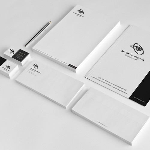 Stationery for optometrist