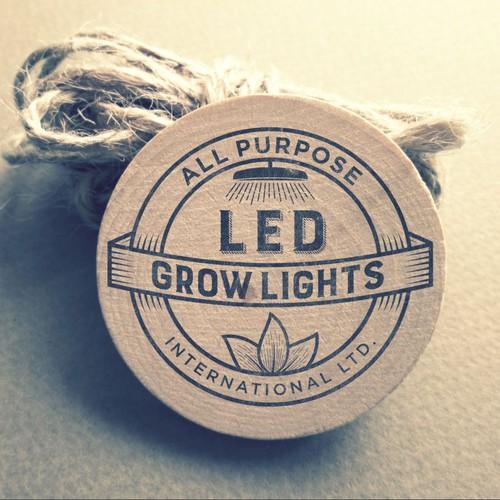Vintage Logo for LED Growlights