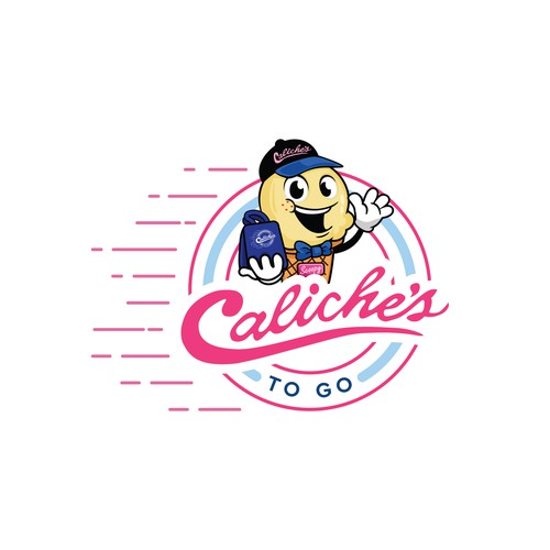 Caliche's To Go logo.