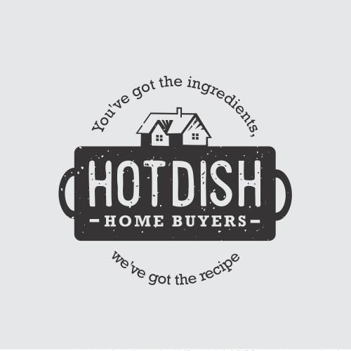 Hotdish Home buyers logo