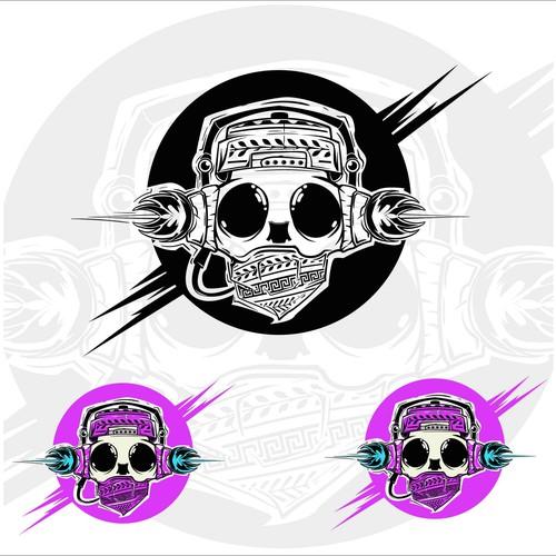 Electronic DJ/Producer hip logo