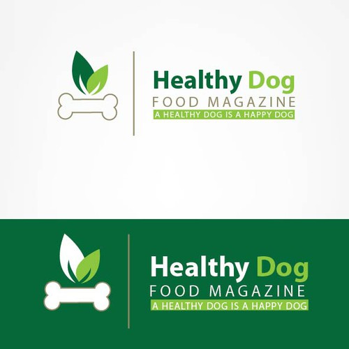 Help Healthy Dog Food Magazine with a new logo