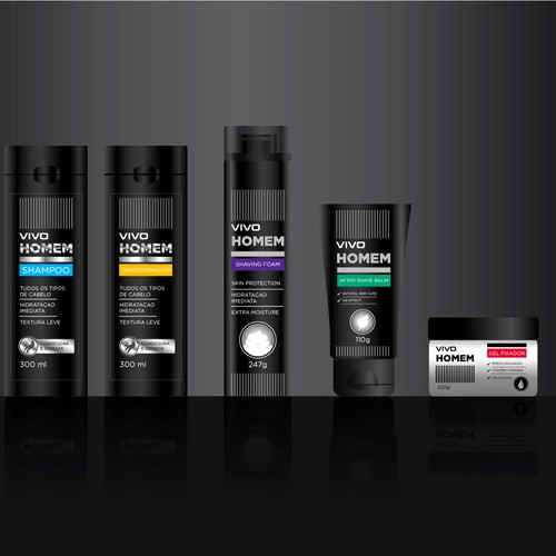 Packaging care cosmetic product