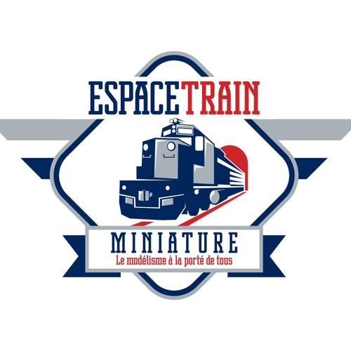 Aidez Espace Train Miniature avec un nouveau design de logo