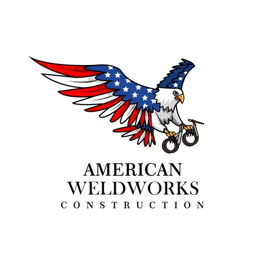 Logo design for American Weldworks