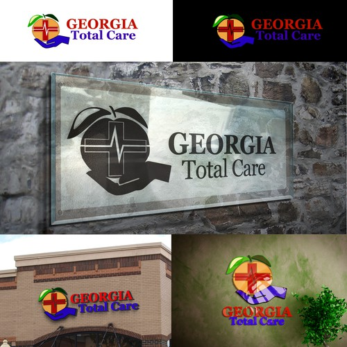 Create a logo for a medical clinic group's website