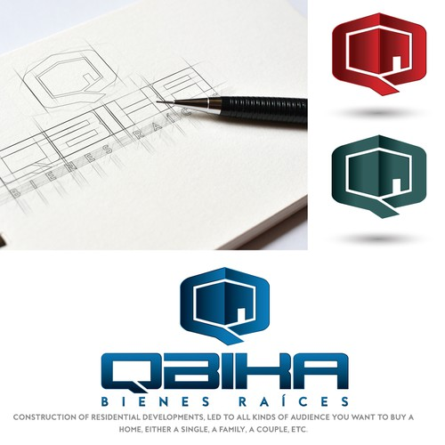 Logo design for Qbika