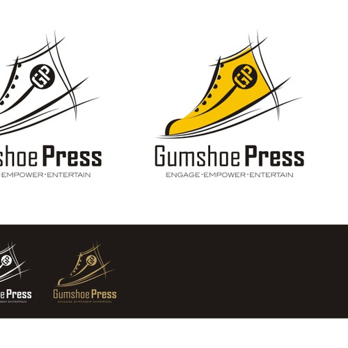 Logo for children's book publisher - Gumshoe Press