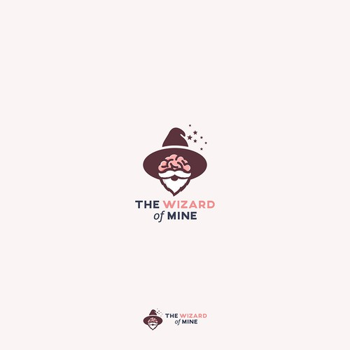bold logo for Wizard of MINE