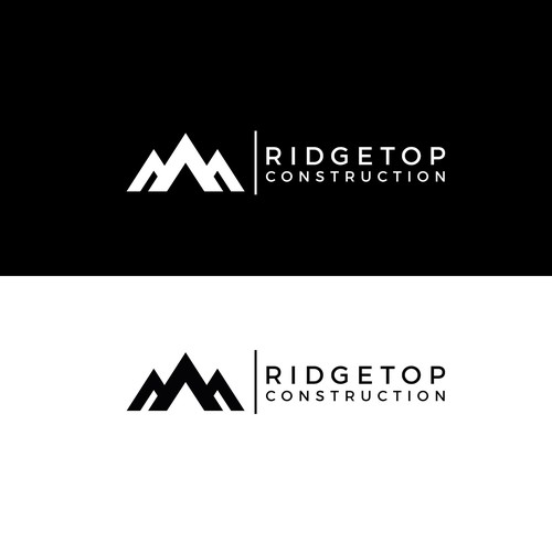 a logo concept for construction company
