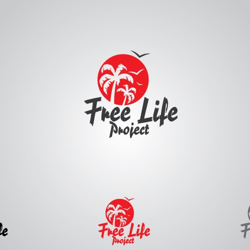 "[Click] Are you a ROCKSTAR in Logo-Design? ""Free Life Project"" needs your Inspiration! :-)"