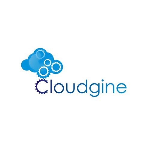 Create a cool modern logo for Cloud Gaming company Cloudgine