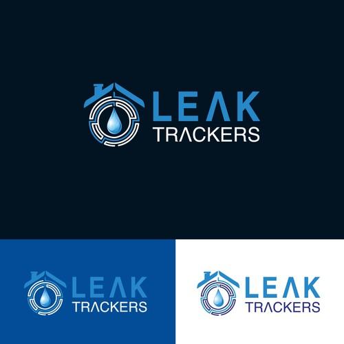 Leak trackers company logo design