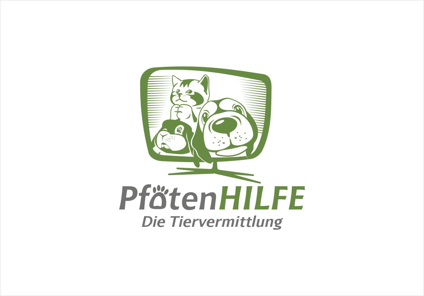 Entwicklung Sendeformat-Logo für Tierschutzsendung im WebTV