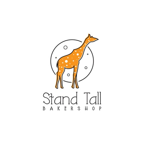 Logo design for Stand Tall Bakershop