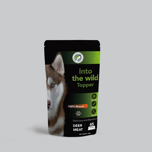 We need a cool,young Dog food packaging! :-)