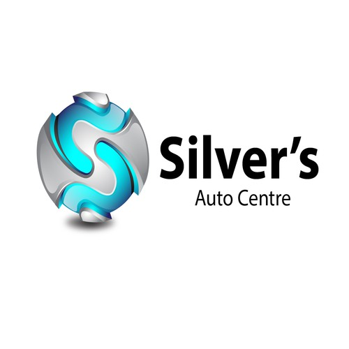New Logo for Silver's Auto Centre, Adelaide, South Australia