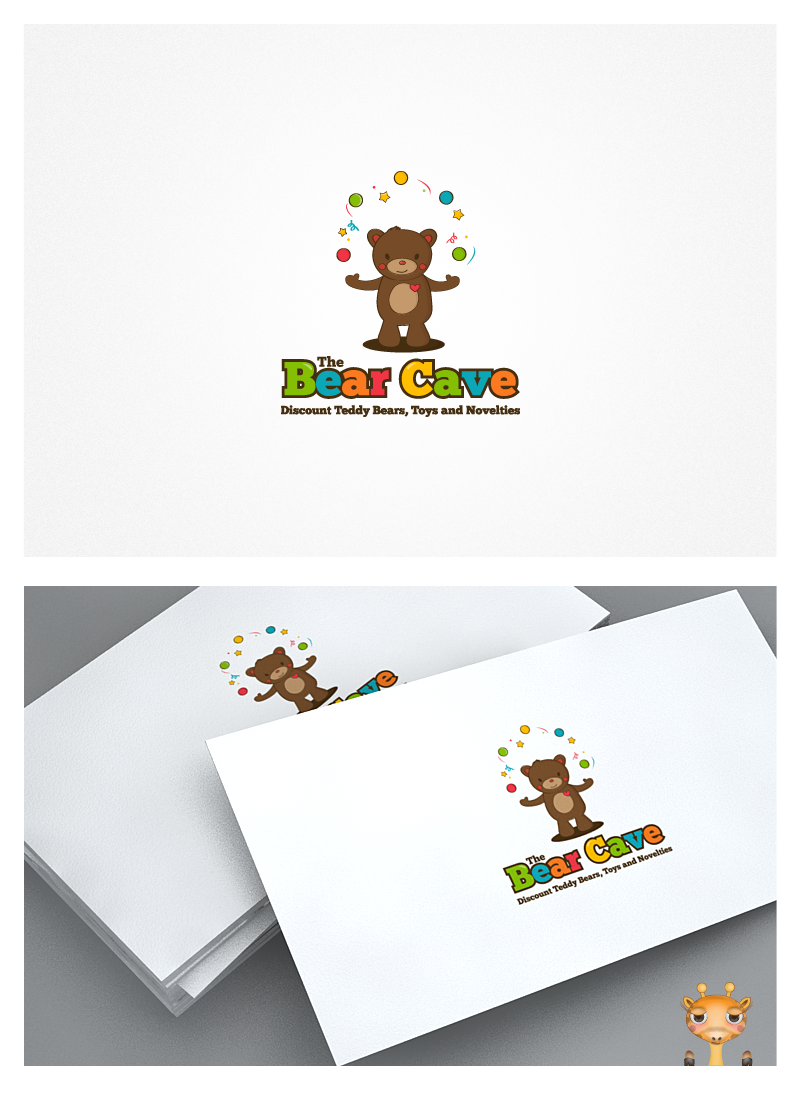 Create the next logo for The Bear Cave