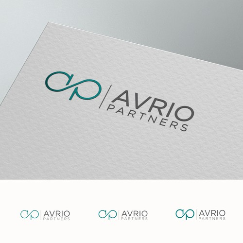 Dynamic and forward-looking logo for consulting firm