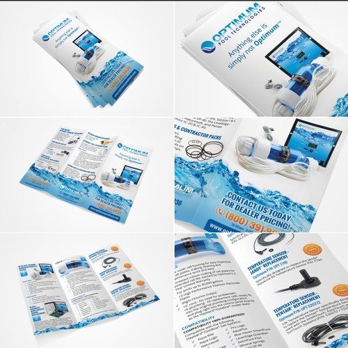Optimum Pool Technologies needs a new brochure design