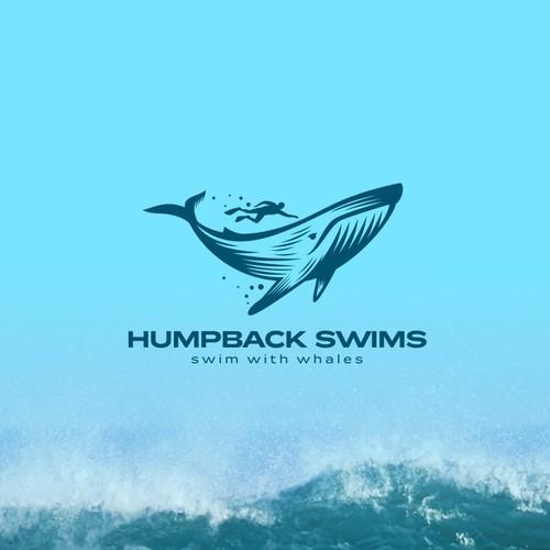 Logo Design for Humpback Swims
