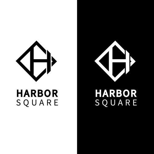 """Simple and clean design for """"HARBOR SQUARE"""""""