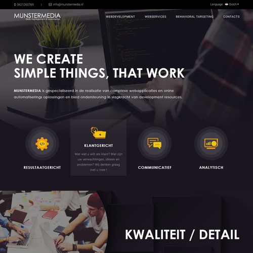 Web Development Studio Website