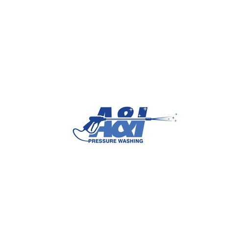 logo for A & I Pressure Washing