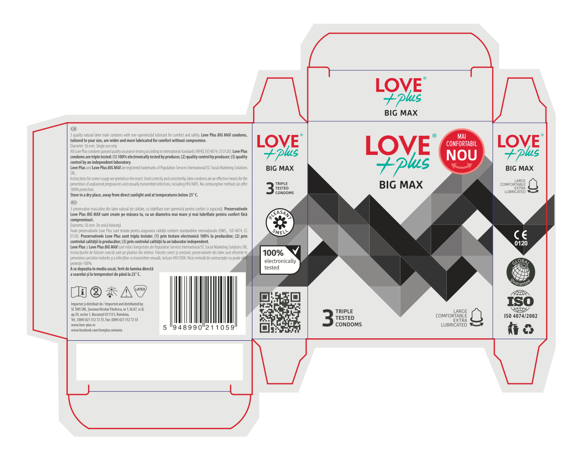 Love Plus Packaging - the remaining SKUs
