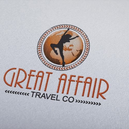 Logo for a  travel company