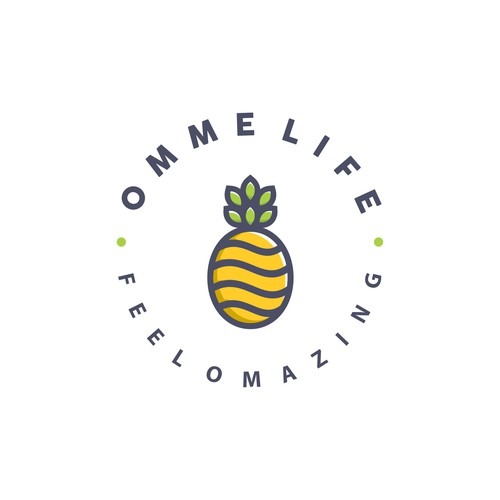 Logo concept for Omme Life