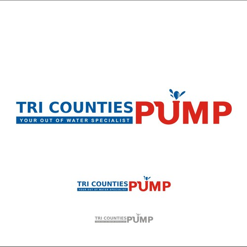 Create the next logo for Tri Counties Pump