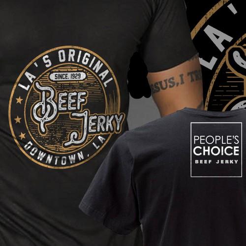 LA's Original Beef Jerky Company Needs a T-Shirt Design!