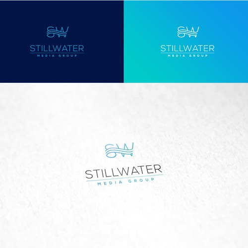 Logo design proposal for Stillwater Media Group