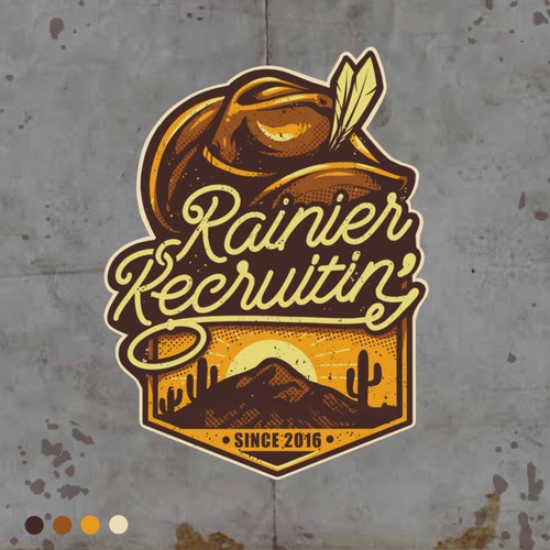 Rainier Recruitin Sticker