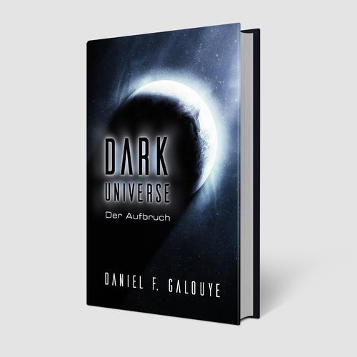 Book cover design for Dark Universe