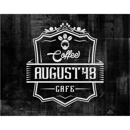 Create logo and bc for August48 coffee cafe