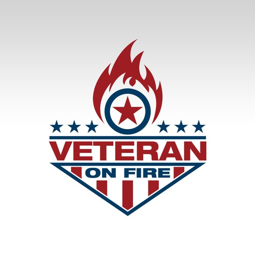 Veteran On Fire Podcast Logo