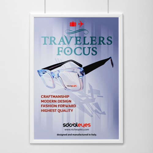 Point of Sale Poster - Niche Optics