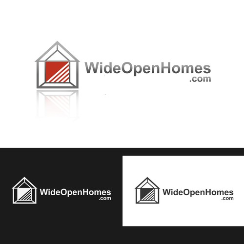 * * * Logo for WideOpenHomes.com * * *