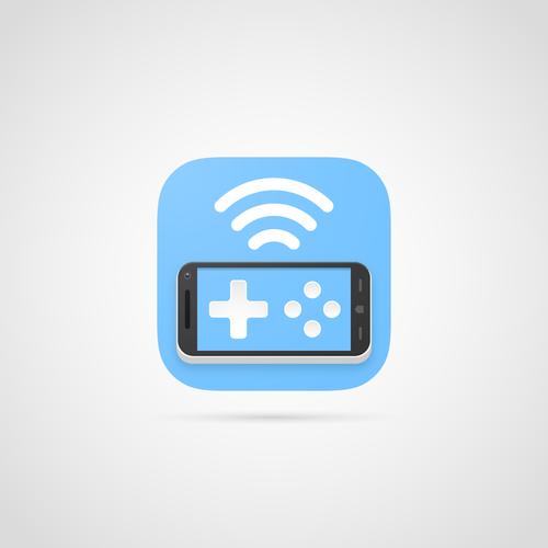 Smartphone gamepad - App icon