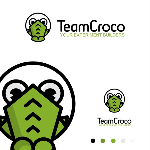 logo and character