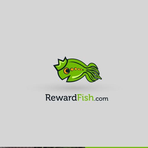reward fish logo contes