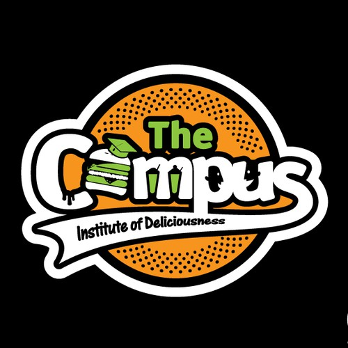 Fun logo for The Campus Restaurant