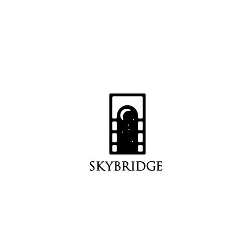 bridge/window logo concept