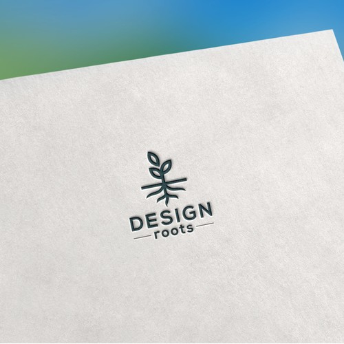 Design Roots logo