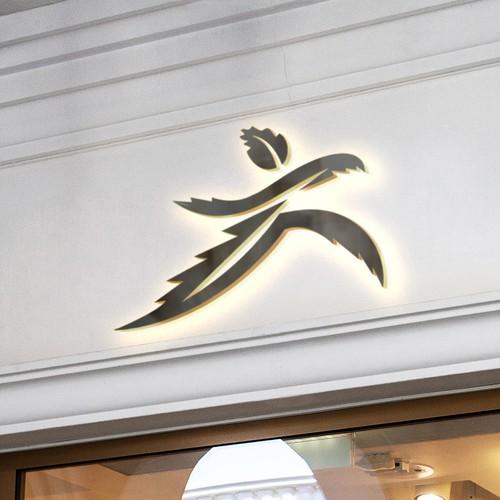 Runner's High logo concept