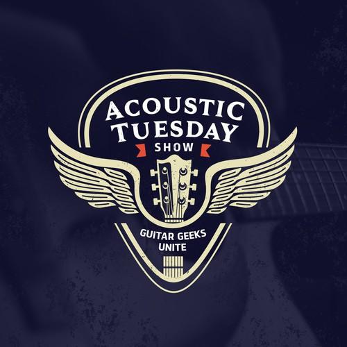 Guitar show logo